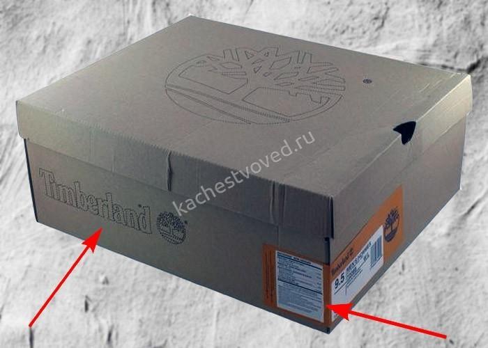 Оригинальная коробка Timberland фото