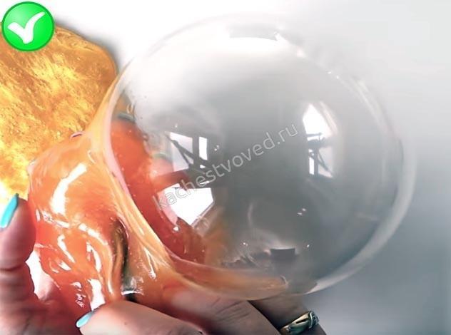 ниндзя слайм надутый шар
