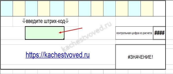 Как пользоваться таблицей для проверки кода