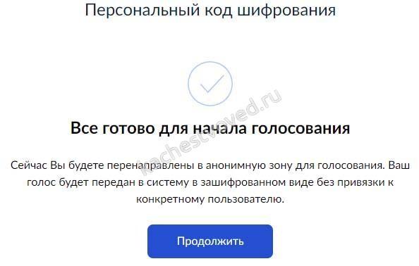 шифрование личности при онлайн голосовании