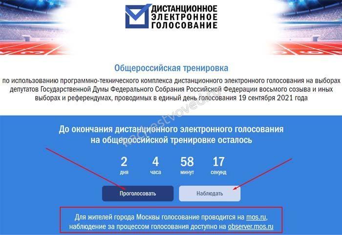 тестирование электронного голосования