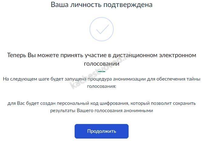 тайность онлайн голосования