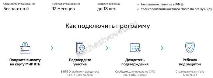 как получить бонусные 1000 рублей от ВТБ при оформлении выплаты для школьников